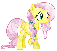 Crystal Fluttershy by KibbieTheGreat