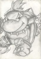 bowser jr Mario Strikers art by hairykoopa