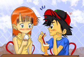 Ash and Misty's First Date by Misty-DawnKetchum011