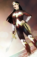 Wonder Woman: The Last Daughter Of Themyscira by TheColinAlexander
