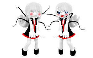 MMD Chibi/Child Slendy DL by McChipy