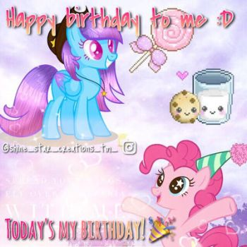 Happy birthday to me :D by DoctressWhooves11