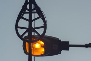 Lights and Wires by FellowPhotographer