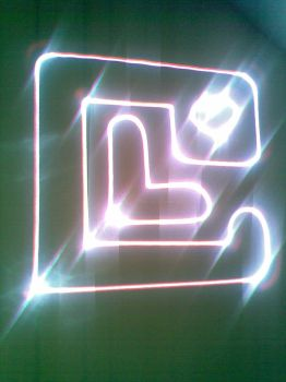 LC laser logo by armbusk