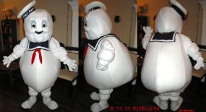The Stay Puft Marshmallow Man by LobitaWorks