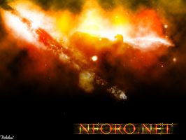 Fire Universe Wallpaper by nithilien