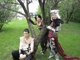 Dragon Age Group Shot by fenn-shysha