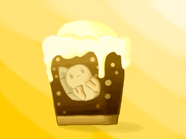 Rootbeer Float Mais by AuroraL1GHT
