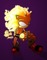 sparks da hedgehog by felle2thou