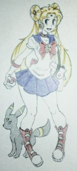 Pokemon Trainer Sailormoon by AlexaXVMichaelis