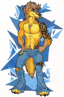 Todd Reilly by StangWolf