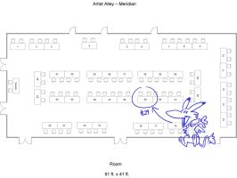 Anime LA Artist Alley location by LynxGriffin