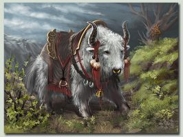 White-Yak by ilison
