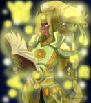 High Priestess Arkay by feathers-Ruffled
