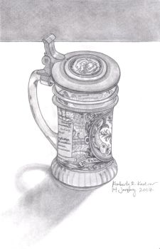 Beer Mug by LuckyNumber113
