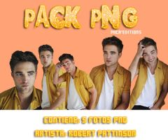 #Pack PNG de Robert Pattinson. by Mica-Editions