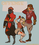 TF2 Genderflips: Offense by paisley