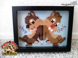 Chip and Dale by RockerDragonfly