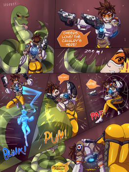 Snake squeeze Tracer -01- by TightSquish