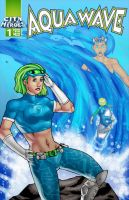 Commish : Aqua Wave cover by wansworld