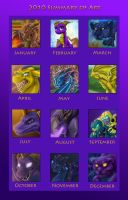 2010 Art Summary by JazzTheTiger