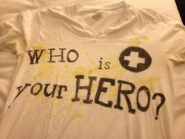 Who is your hero shirt by Zero-chan13
