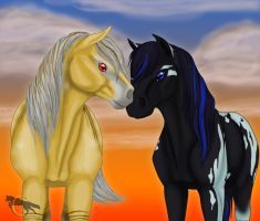 HARPG - Orion and Aerea by FlareAndIcicle