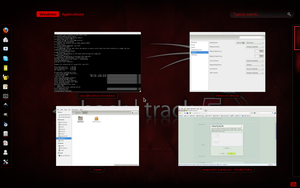 BackTrack 5 Gnome Shell Theme by kheeper