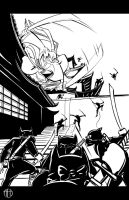 Usagi Yojimbo - INKS by Theamat