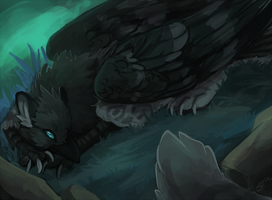 Khaos Gryphon by SushiGryphon