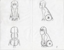 K-9 by Chick-with-a-pencil