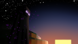 Endermans Sunset by VeeVeeNightingGale