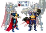 Death's Head action figures, yes? by Simon-Williams-Art
