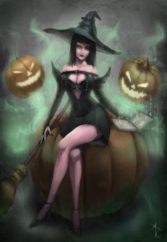 Sexy Witch by VezoniaArtz