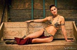 Slave Leia by Applenaut
