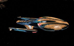 The Kelvin Standing By In The Drozana System by tj-hawk