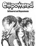 EMPOWERED 7's Ninjette/ Caged Demonwolf title page by AdamWarren