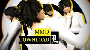 MMD - JUST DO IT [DEATH NOTE EDITION] +MODEL DL by K-I-R-U-S-H-U