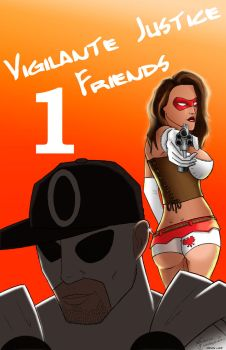 VJF Issue 1 Cover by VJusticeFriends