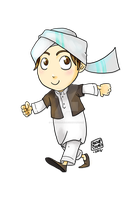 Little Hisham by yusufcolors