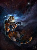 Space Tiger by blayrd