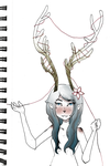 deer girl by remmie19