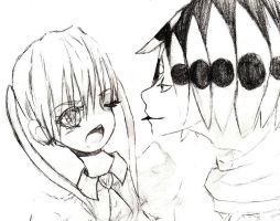 Asura, put your tongue back in your mouth. by Hisaharu