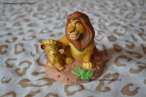 Mufasa and Simba Figure - TLK by MoondragonEismond