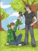 BEN10 AF: Shoe Thief by pan2dapan
