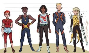New Mutants Redesign by thewipeout