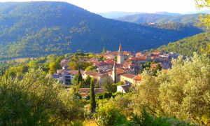French Village in the Mountains by dananaboo