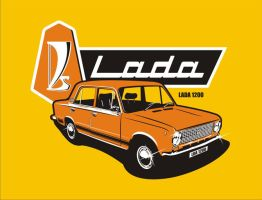 Lada 1200 by pherents