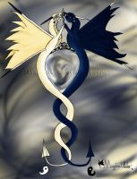 Yin Yang Dragons - Colored by magicalNeko