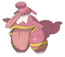 Lickilicky Evo: Glutticki by IDrew1995